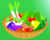お野菜かご・拡大